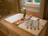Tub Caddy made of Reclaimed Oak by Peg and Awl - traditional - shower caddies - - by Etsy