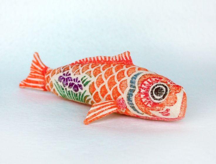 木版手染めぬいぐるみ 鯉のぼりセット