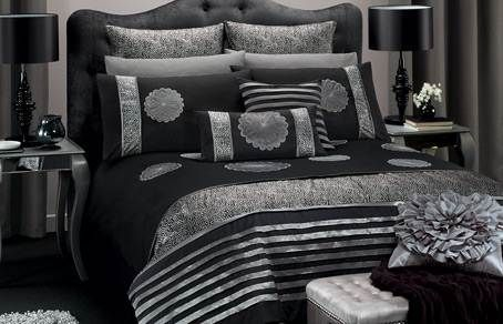 Black and silver bedroom ideas 2012 decorating ideas for Black and silver bedroom designs