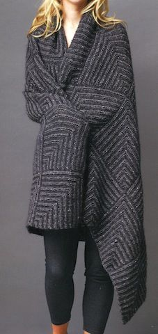 Knit Issue 9: Mitered Squares, Knitted Afghan, Knitting Combos, Domino Knitting