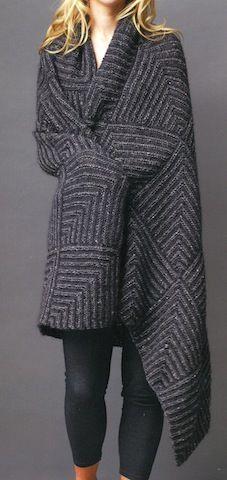 Jo Sharp mitered blanket