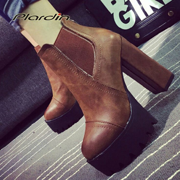 #aliexpress, #fashion, #outfit, #apparel, #shoes #aliexpress, #Ultra, #Heels, #Shoes, #Woman, #Martin, #Boots, #Female, #Round, #Martin, #Boots, #9cmThick, #Platform, #Women, #Shoes, #Ankle, #Boots