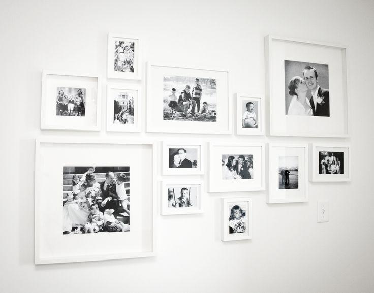 Boxwood Clippings » Blog Archive » Martha Stewart Photo Wall