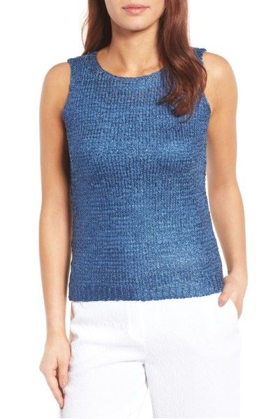 Main Image - NIC+ZOE Day Dreamer Knit Top (Regular & Petite)