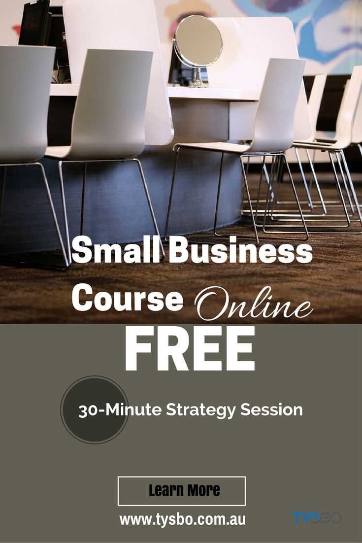 Know how to start your business on the right foot. Invest your time by learning the right strategy of running a small business in Australia, including legal and structure, finance method, digital marketing and more.  Register for FREE Small Business Strategy Session today. Learn more about it, visit our website tysbo.com.au/