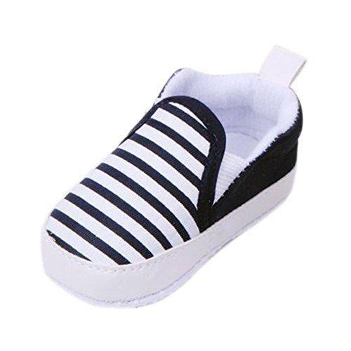 Oferta: 2.92€. Comprar Ofertas de Xiangze Zapatillas de bebé unisex algodón cómoda mezcla de fondo rayas antideslizantes zapatos barato. ¡Mira las ofertas!