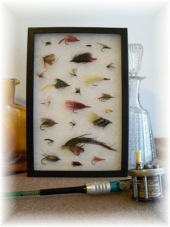 Grandpas Retired Bait Collection Fly Fishing LURES a by rekamepip, $75.00
