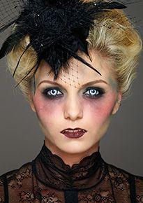 vampire girl kryolan professional make up halloween - Halloween Makeup Professional