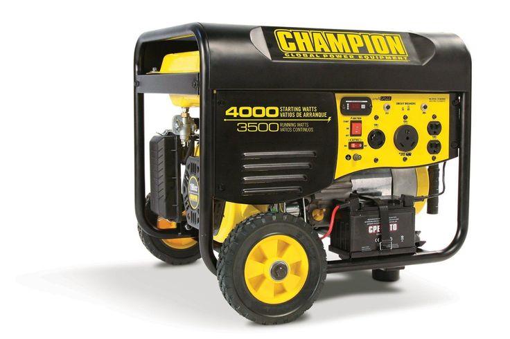 Best Portable Generator Reviews - 2017 - Champion Power Equipment 46539 http://egardeningtools.com/product-category/generators/