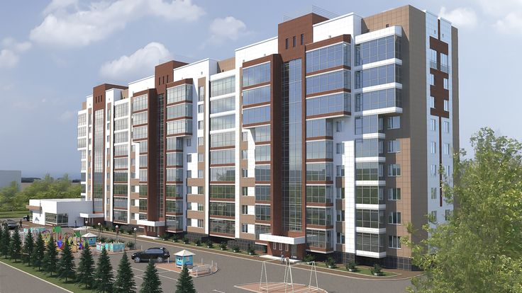 Комплексное проектирование многоквартирного жилого дома г. Сыктывкар ул. Катаева -Дальняя