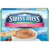 Swiss Miss Hot Cocoa Mix, Sensible Sweets, Diet, 8-Count Envelopes (Pack of 6) (Grocery)By Swiss Miss