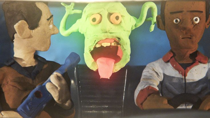 Quentin Tarantino's Ghostbuster 3 Claymation
