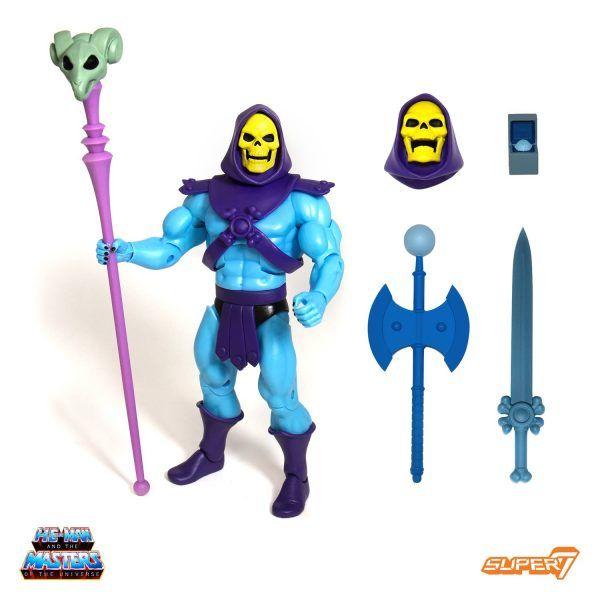 Masters of the Universe Ultimates Skeletor 2.0 Filmation Super7 Club Grayskull