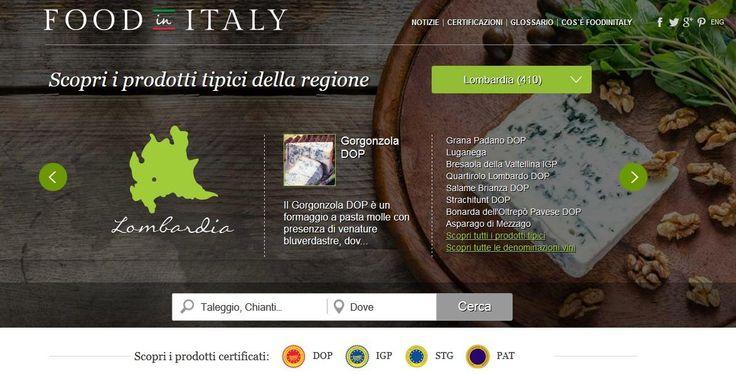 Prodotti tipici, denominazioni vini e produttori: Food in Italy. Il portale internazionale delle eccellenze enogastronomiche italiane certificate #madeinitaly #italianfood @foodinitaly_com