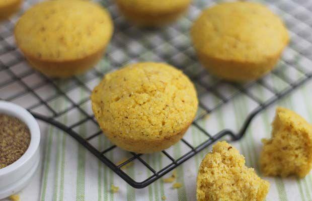 Sweet Hometown Corn Muffins