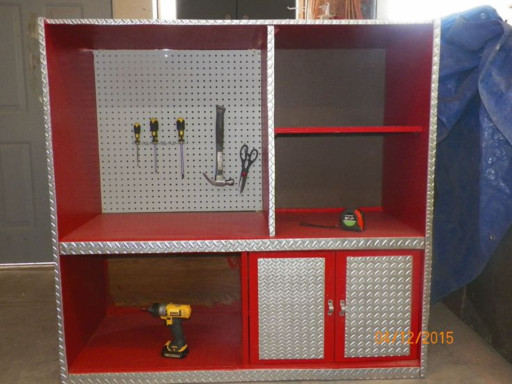 old entertainment center tool bench for little kids #woodworkingforkids