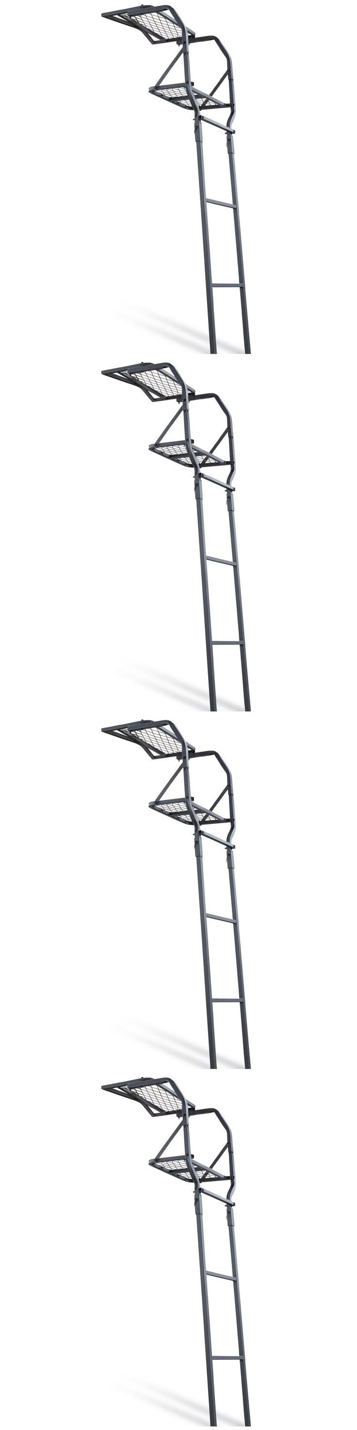 Tree Stands 52508: Deer Hunting Ladder Tree Stand Bow Treestand Man Climbing 15Ft New -> BUY IT NOW ONLY: $68.46 on eBay!