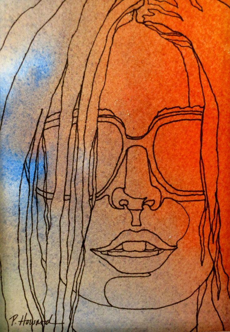 Contour Line Drawing Ink : Best contour line drawing images on pinterest