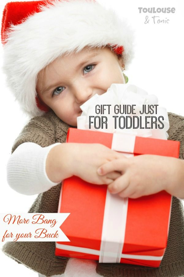 Great Christmas gift ideas for toddlers - great values on toys and presents they'll play with long after the holidays! | preschool | Hanukkah | Chrismukkah @toulousentonic