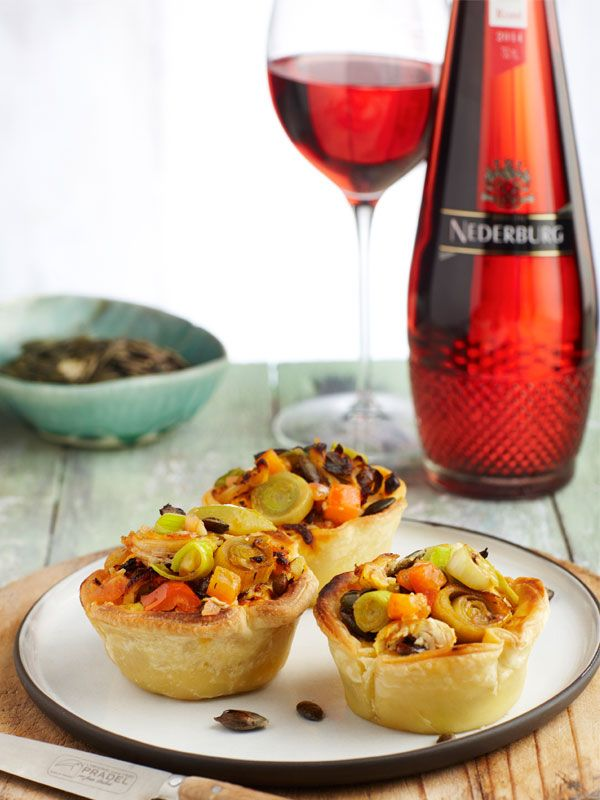 Tshohlo And Mango Atchar Mini Quiches With Pumpkin Seeds