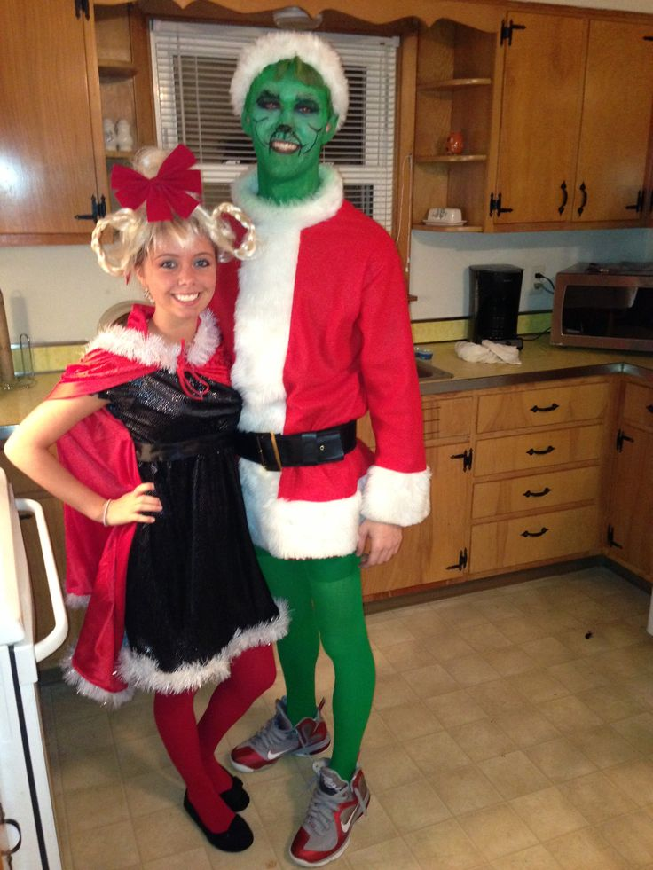 Cindy and the grinch costume