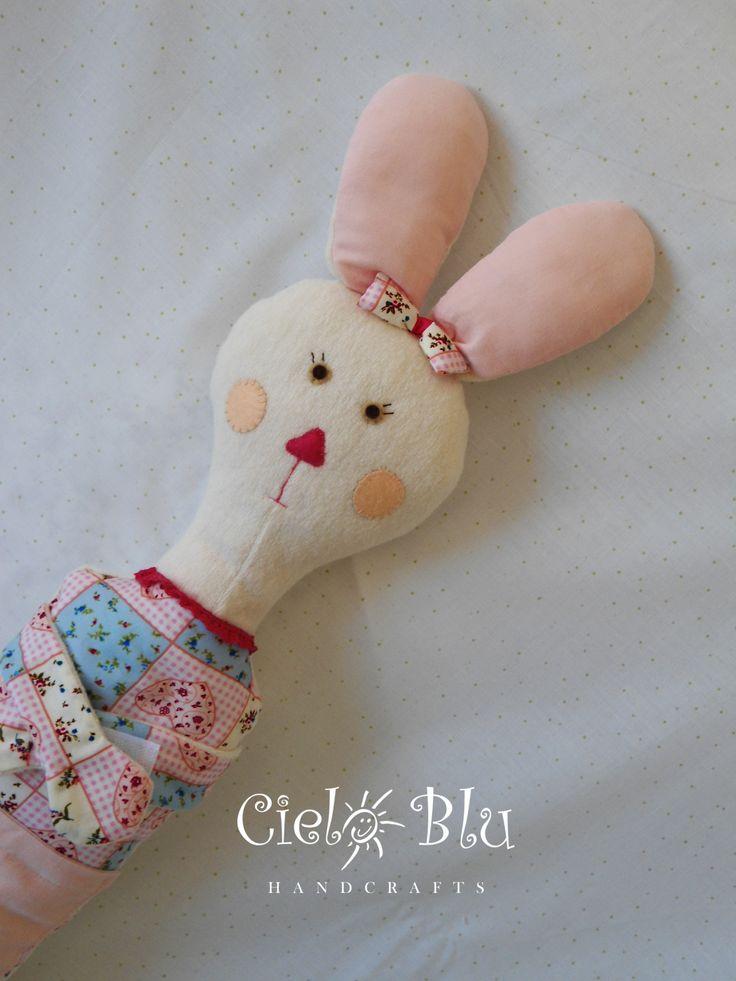 Seatbelt pillow /bunny