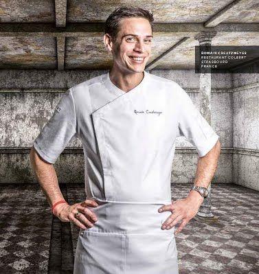 chaquetas para chef, Clement Design, modelo Zest. #chef #uniformes #chaquetas #filipinas.