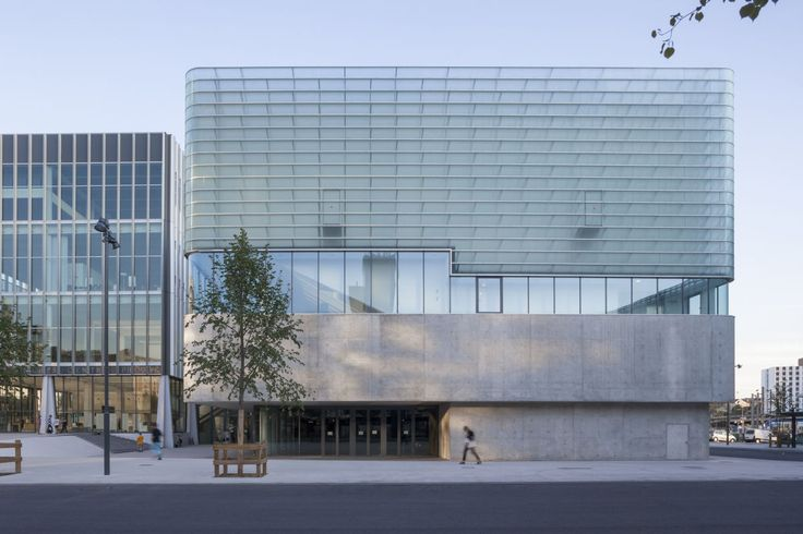The Centre Prouvé is a reconversion and extension of an old and impressively sized building: the Nancy Postal Sorting Office.    The furniture for the congress is made my GENS association libérale d'architecture in collaboration with the artist Benja...