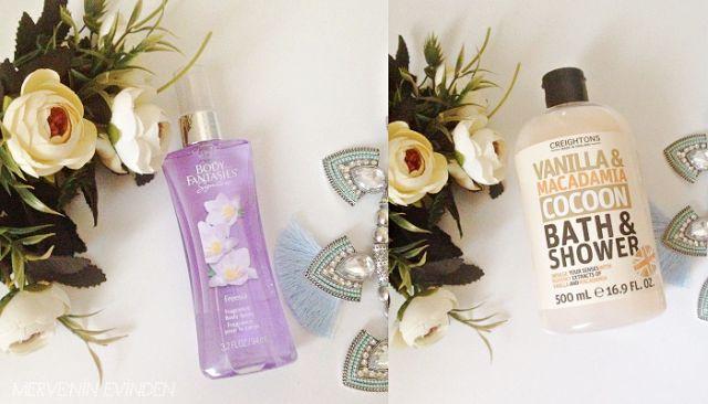 Kuru vücut fırçalama faydası | vücut parfümü  | Vanilyalı duş jeli