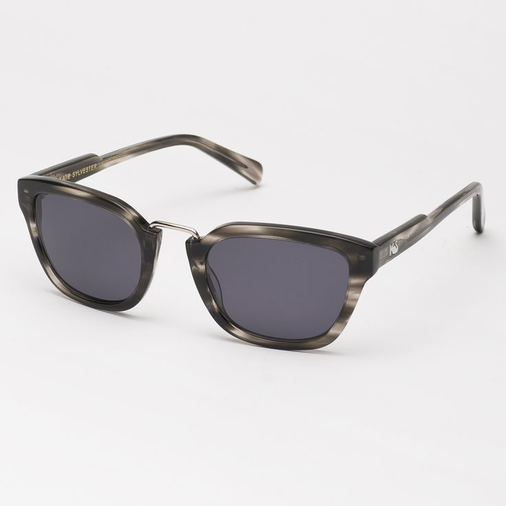 Eyewear - Kate Sylvester Sunglasses: Lux - Streaky Grey