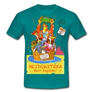 Kölner Karneval T-Shirt I Heidewitzka Herr Kapitän ..........
