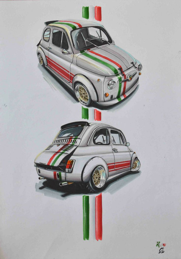 Stanced Fiat 500 Abarth www.facebook.com/two6design #Fiat #Abarth #Stance