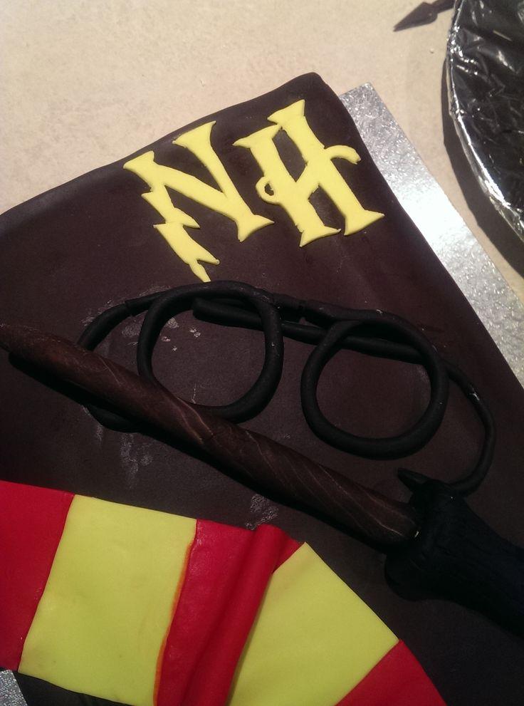 Nyssa's personalised Harry Potter book birthday cake