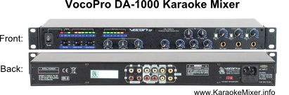 VocoPro-DA-1000-Karaoke-Mixer - Title image for a review about the VocoPro Karaoke Mixer.