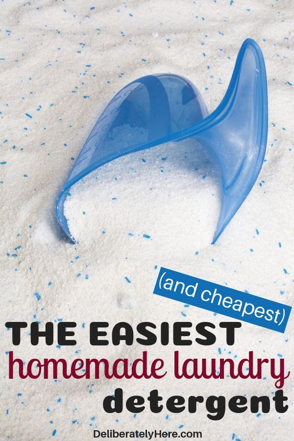 5 Affordable Homemade Laundry Detergent Recipes Homemade Laundry
