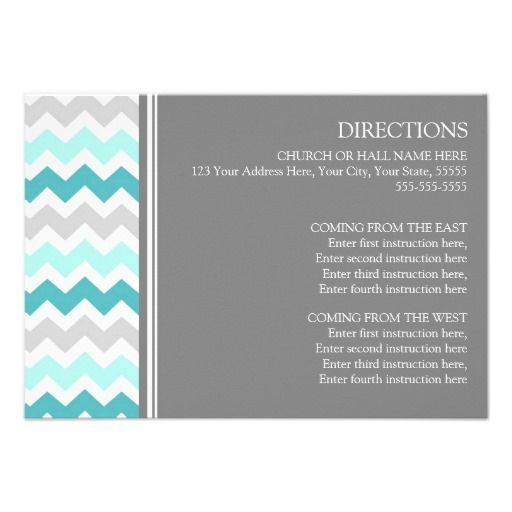 ==>>Big Save on          Wedding Direction Cards Teal Grey Chevron           Wedding Direction Cards Teal Grey Chevron We have the best promotion for you and if you are interested in the related item or need more information reviews from the x customer who are own of them before please follow ...Cleck Hot Deals >>> http://www.zazzle.com/wedding_direction_cards_teal_grey_chevron-161278549452654361?rf=238627982471231924&zbar=1&tc=terrest