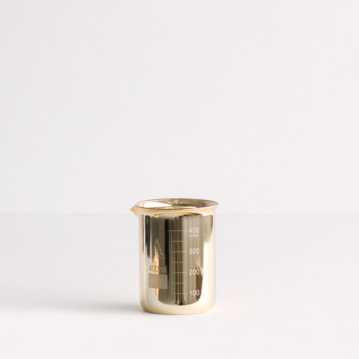 Alchemy Produx Beaker Candle Brass- COCONUT & LIME