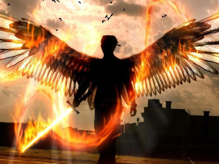 """Angel Warrior """"For it is written:   'He will command his angels concerning you to guard you carefully; they will lift you up in their hands, so that you will not strike your foot against a stone'""""  Luke 4:10"""