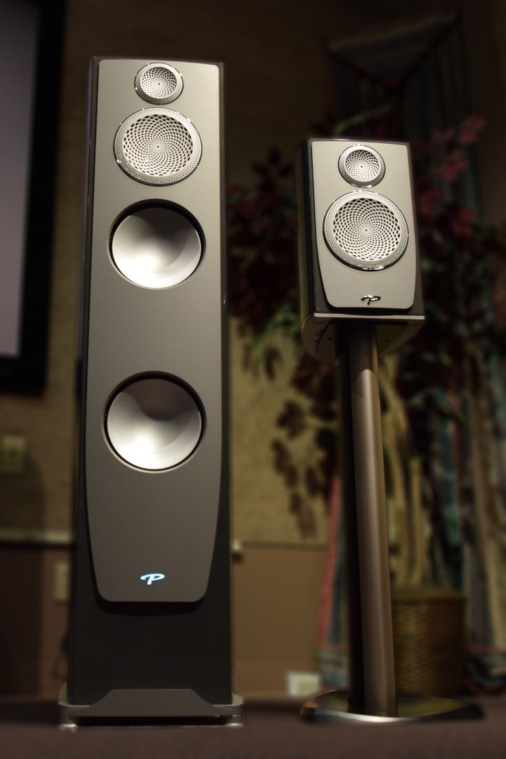 Paradigm Persona line, floor standing model 9H and stand-mounted model B. - 2016