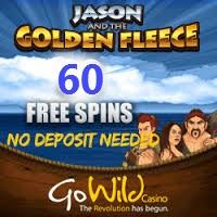"60 Free Spins on ""Jason and the Golden Fleece"" no deposit – plus 100% up to €200 and 50 Free Spins on Thunderstruck at Go Wild Casino 