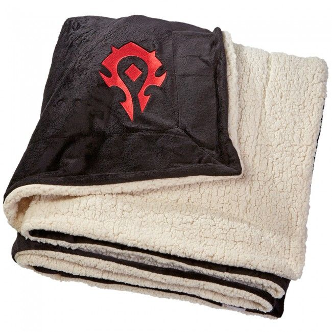 Hearthstone Throw Pillow : World of Warcraft Horde Logo Blanket Gaming/Geek Room Pinterest Shopping, Logos and The o jays