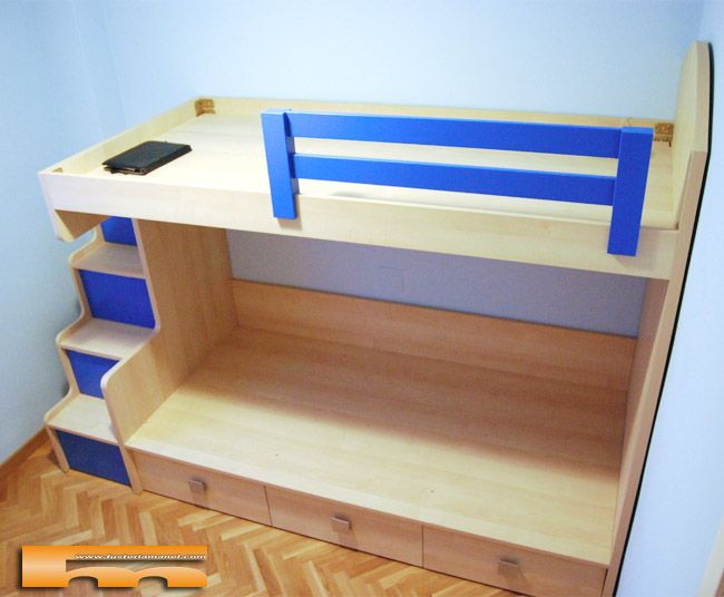 M s de 25 ideas incre bles sobre literas con escalera en - Escaleras para camas altas ...