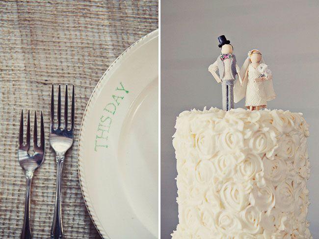 Cake by Bonne Boyd Bedingfield http://fondantopia.blogspot.com/2011/06/wedding-cake.html