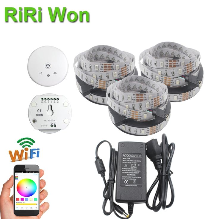 28.98$  Watch here - 4M 5M 8M 5050 RGB led strip fita de 10M Waterproof led RGB tape diode feed tiras lampada ac dc 12V led light+UFO WIFI controller  #buychinaproducts