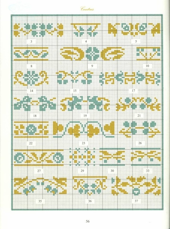 Borders in cross stitch 28