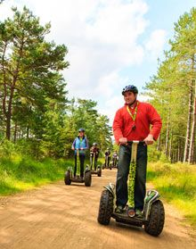 Forest Segway from Go Ape!
