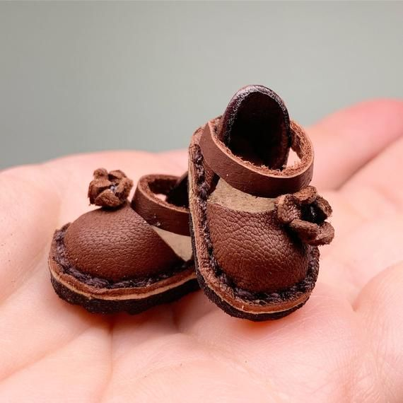 Holala Pullip Doll Shoes Leather boots handmade For Blythe Mui Chan