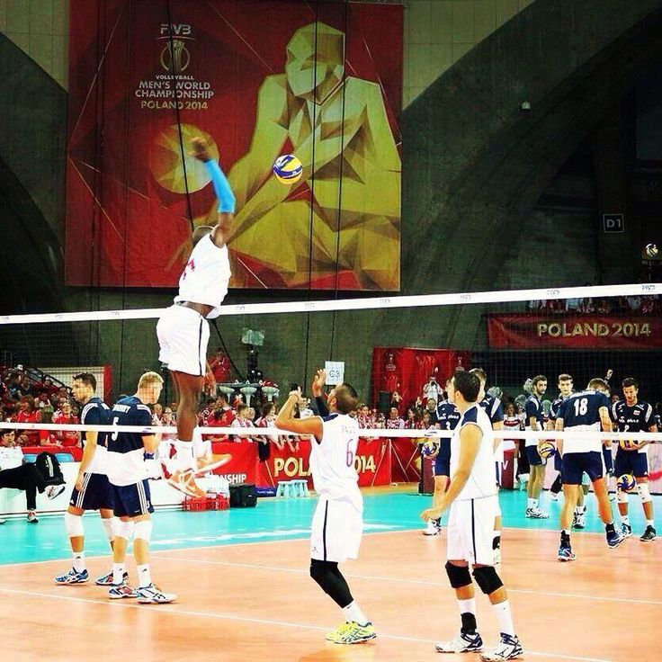 Who's going to block him!? #FIVB #Volleyball