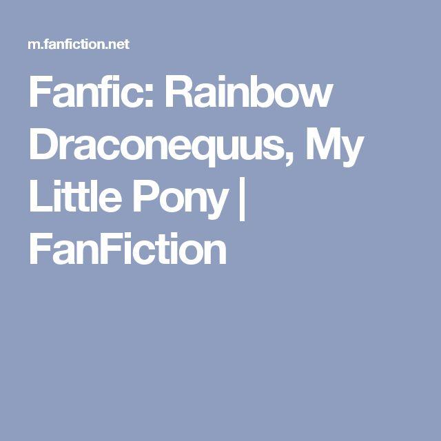 Fanfic: Rainbow Draconequus, My Little Pony | FanFiction
