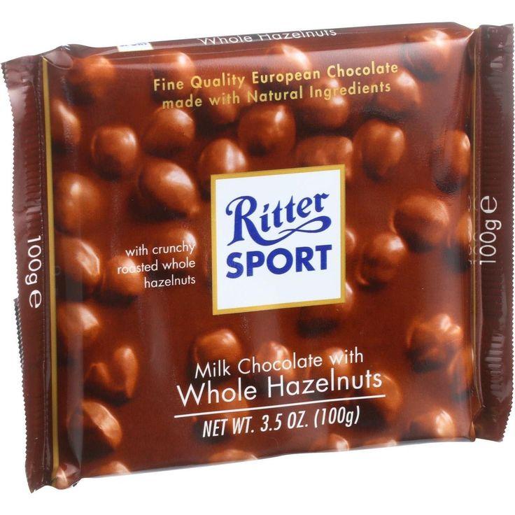 Ritter Sport Chocolate Bar Milk Chocolate Whole